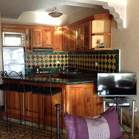 Foto 3 - Möblierte, voll ausgestattete Küche