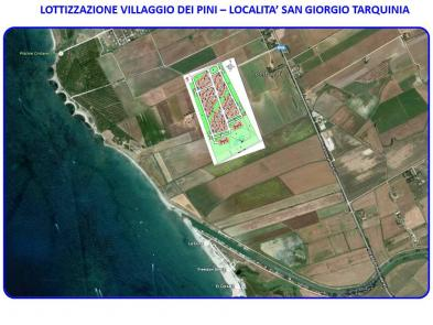 Very nice building land in TARQUINIA