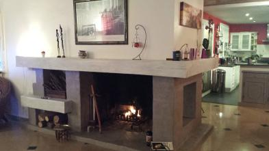 Photo 5 - Fireplace