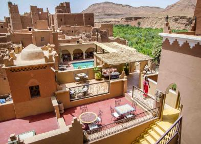 Prachtig pension (22 kamers - 800 m²) in TAMDAGHT AIT BEN HADDOU