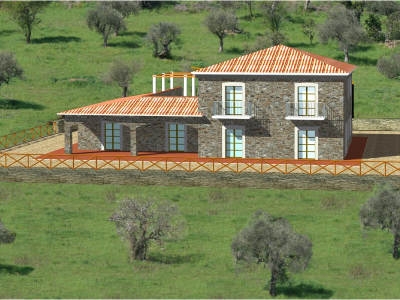 Small cottage (bastidon) in 84048 PERDIFUMO (SA)