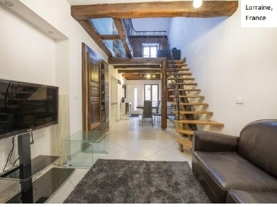 Magnificent architect-designed house (2 rooms - 60sqm) in BULLIGNY